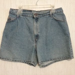 Vintage Levis Orange Tab High Waist Denim Shorts